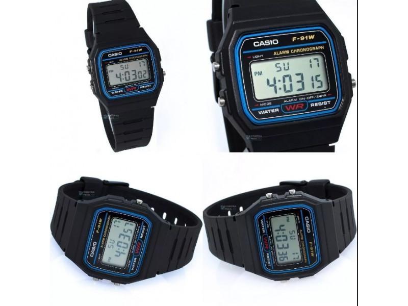 08ed18c727fa Imagen Reloj De Pulso Casio F-91w Original Hombre 4