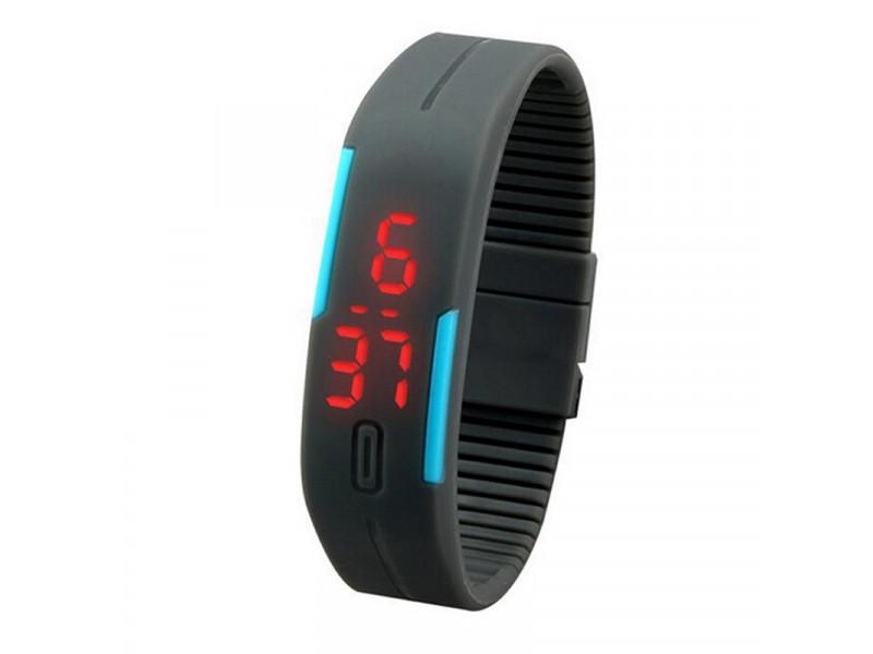 7b9de06ae572 Reloj Manilla Impermeable Silicona - Color Gris Azul  PS1282 Compra ...
