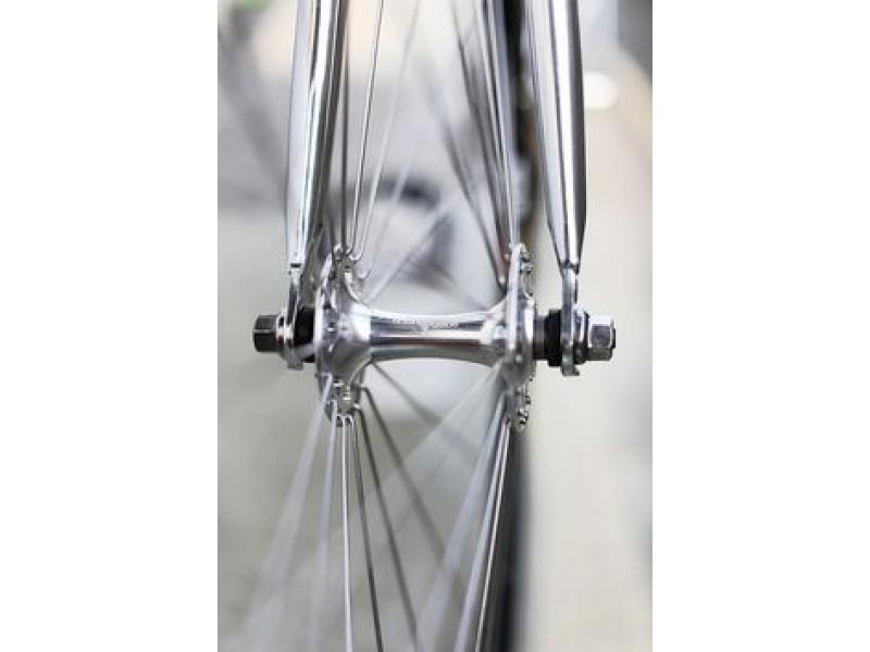 FUJI Track Fixed Gear Single Speed Bike Hub Set Front 24H Rear 28H