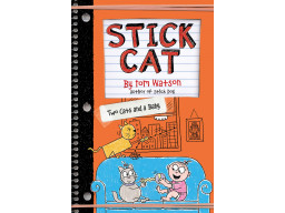 Imagen Stick Cat: Two Cats and a Baby