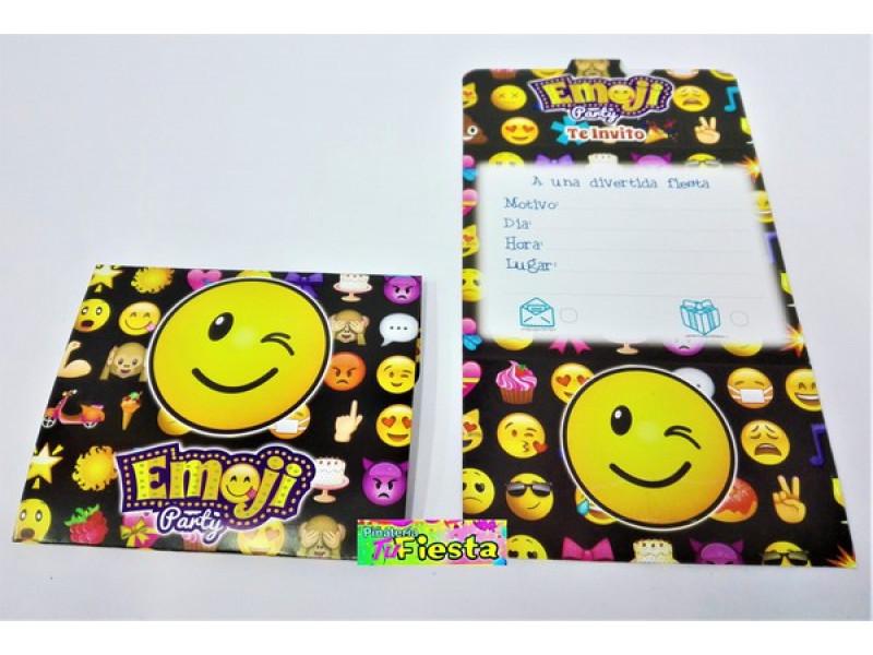 Tarjetas De Invitación Emoji Tarjetas De Invitación Emoji