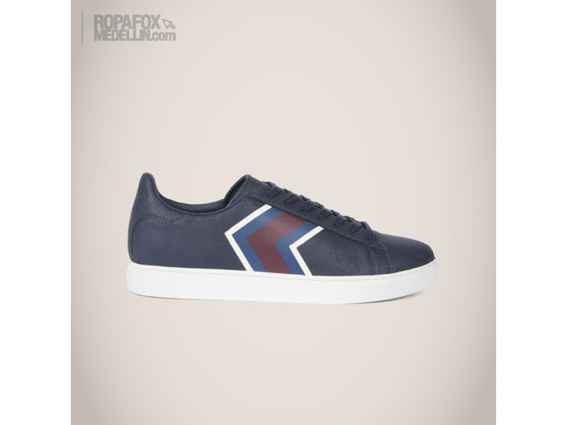 Imagen Tenis Armani Exchange Blue/Red 1