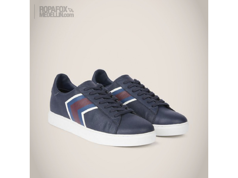 Imagen Tenis Armani Exchange Blue/Red 2