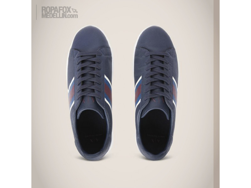 Imagen Tenis Armani Exchange Blue/Red 3