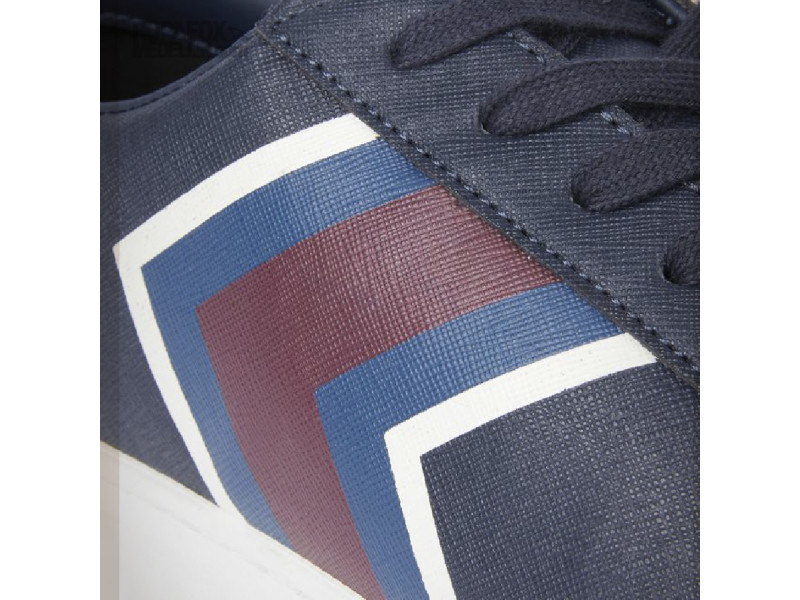 Imagen Tenis Armani Exchange Blue/Red 5