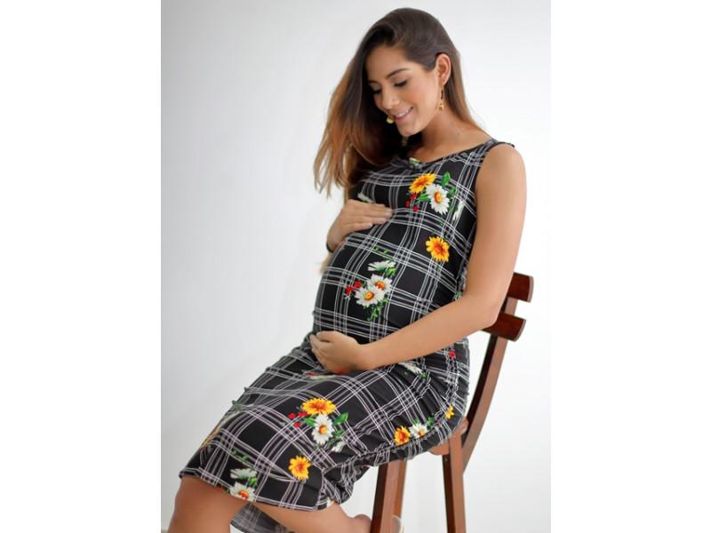 ac19bef7a Vestido Materno Cómoda y con estilo