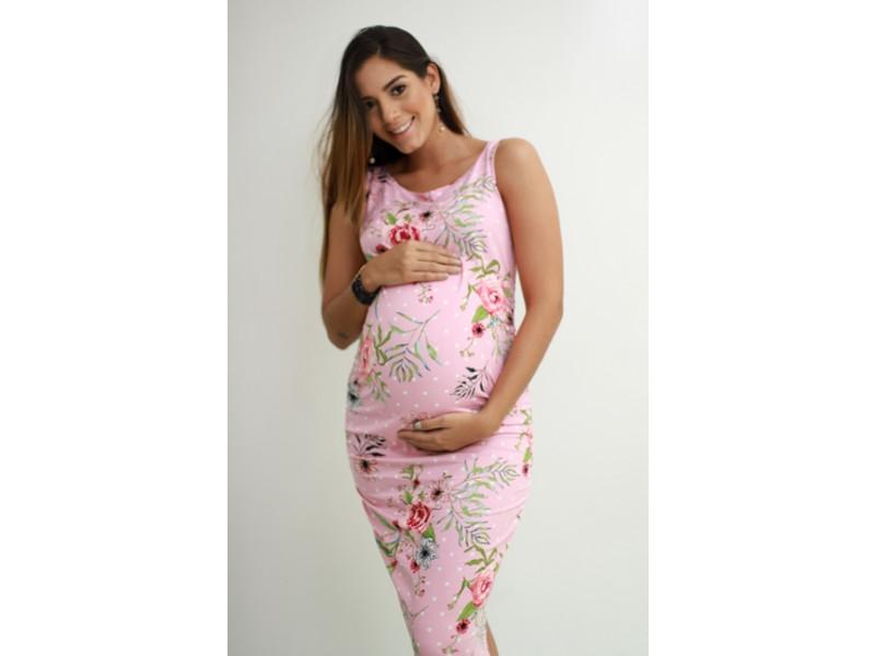 a5b774d97 Vestido Materno Cómoda y romántica: VM01 9 Meses