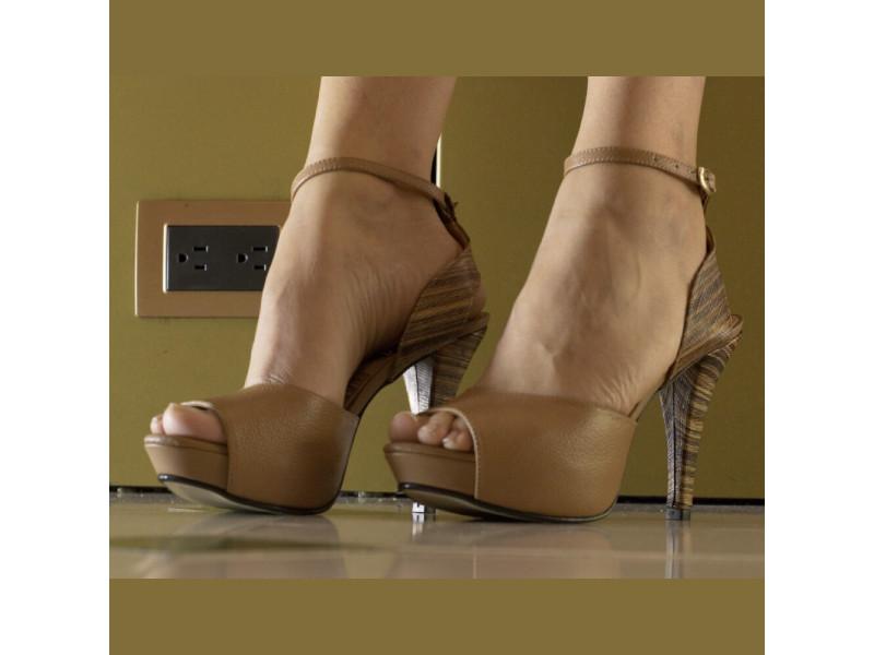 Zapatos Tacón Alto Cuero Mujer De Para hQxsdCtr