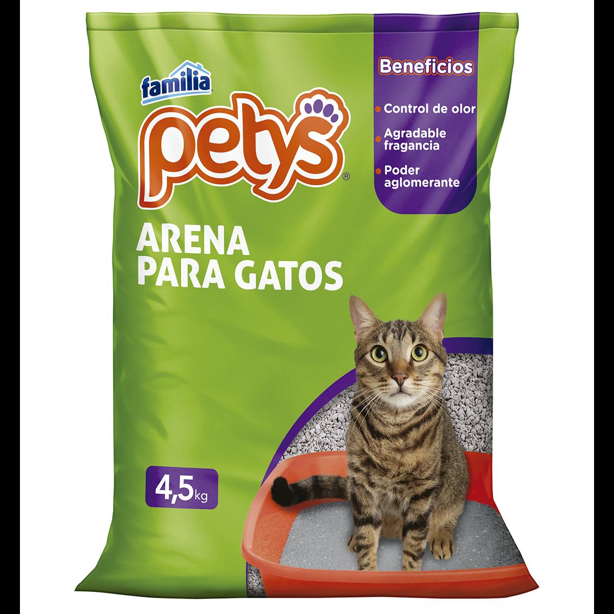 Imagen Arena Para Gatos Petys x 4,5 Kg