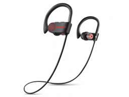 Imagen Audifonos Bluetooth Microfono Impermeable WAVEFUN IPX7 Negro