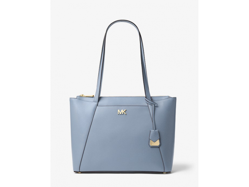 Imagen BOLSO MICHAEL MICHAEL KORS Maddie Medium Crossgrain Leather Tote 100% Original 1