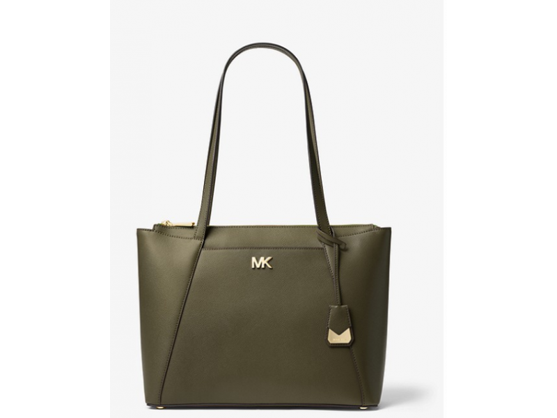 Imagen BOLSO MICHAEL MICHAEL KORS Maddie Medium Crossgrain Leather Tote 100% Original 3