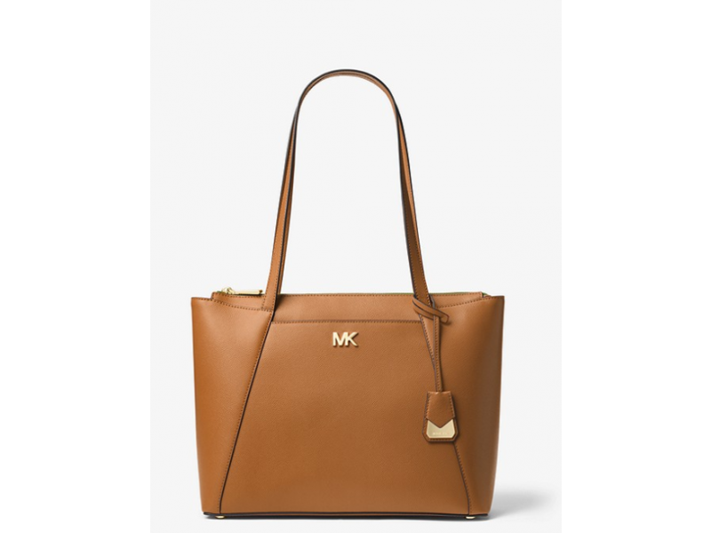 Imagen BOLSO MICHAEL MICHAEL KORS Maddie Medium Crossgrain Leather Tote 100% Original 4