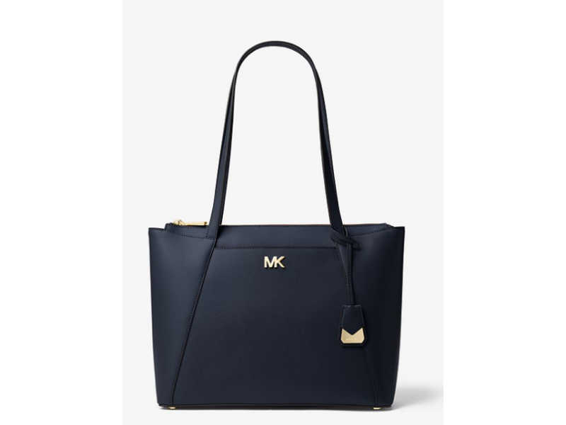 Imagen BOLSO MICHAEL MICHAEL KORS Maddie Medium Crossgrain Leather Tote 100% Original 5