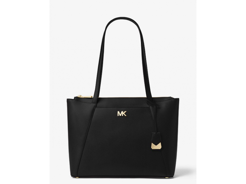 Imagen BOLSO MICHAEL MICHAEL KORS Maddie Medium Crossgrain Leather Tote 100% Original 7