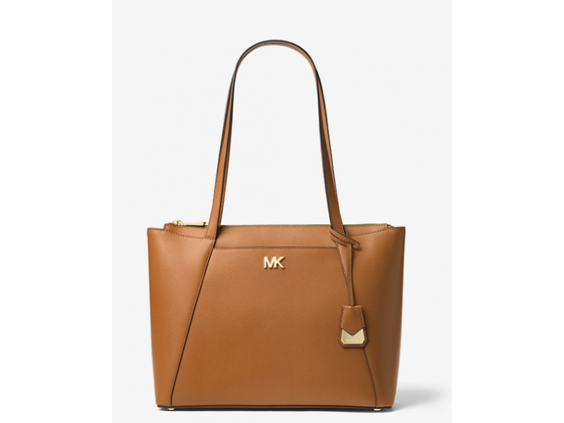 Imagen BOLSO MICHAEL MICHAEL KORS Maddie Medium Crossgrain Leather Tote 100% Original 8