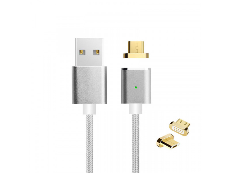Imagen Cable Datos USB Android Magnetico 100cm Mantis 4