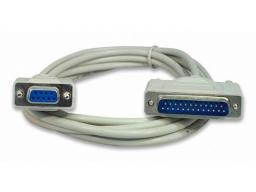 Imagen Cable DB25 Macho a DB9 Hembra 1.80m