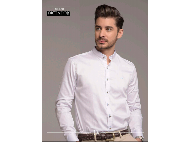 camisas manga larga de hombre