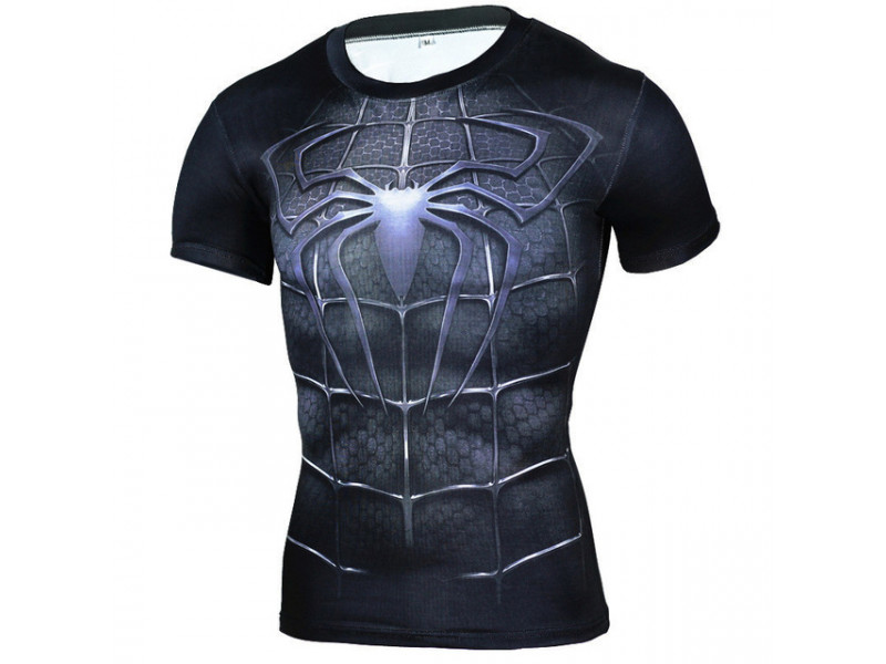 Imagen Camiseta Alter Ego Slim Fit Spiderman 3D 1
