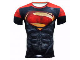 Imagen Camiseta Alter Ego Slim Fit Superman 3D #2