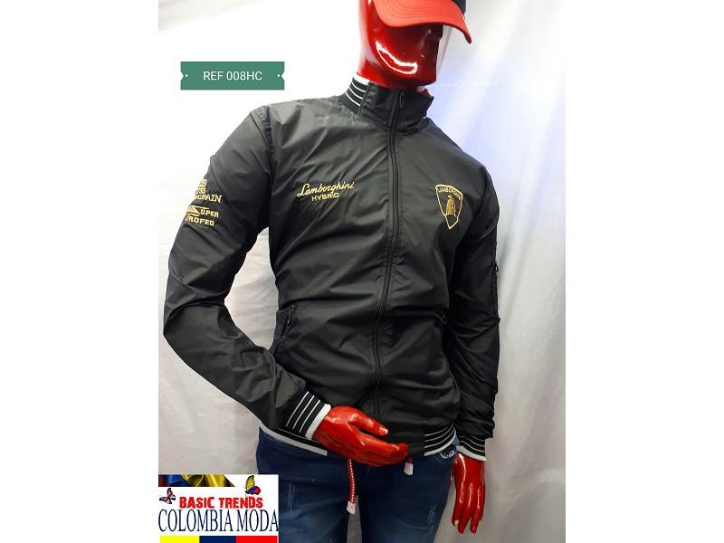 0d6291e3a2b69 chaqueta deportiva forro frizz de hombre  008hc Basic Trends ...
