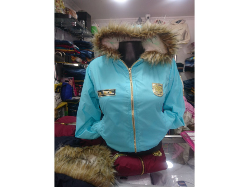 Imagen CHAQUETA DEPORTIVA IMPERMEABLE DE MUJER 7