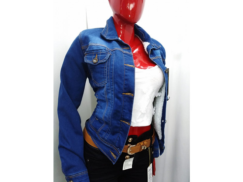 Imagen Chaqueta Jeans Ovejero Para Mujer 1
