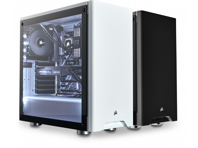 Imagen CHASIS CORSAIR CARBIDE SERIES 275R TEMPERED BLANCO 2