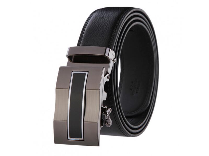 32a53b2388 Cinturon Hombre Lujo Hebilla Automatica # 1 - Color Negro: PS660 ...