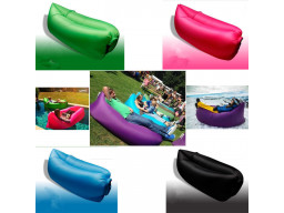 Imagen Colchoneta Magica Sofa Cama Inflable Aire Puff Camping Playa