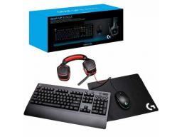 Imagen Combo Gear UP 4 en 1 Logitech Gaming Bundle