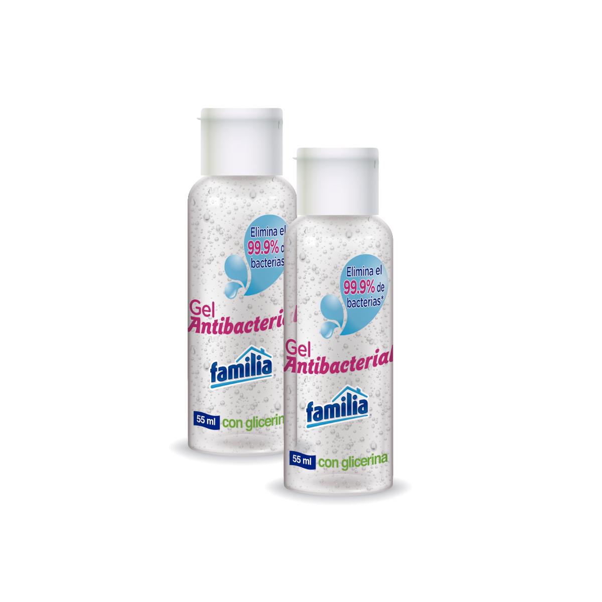 Imagen Combo Gel Antibacterial Familia x 110 ml (55ml c/u)