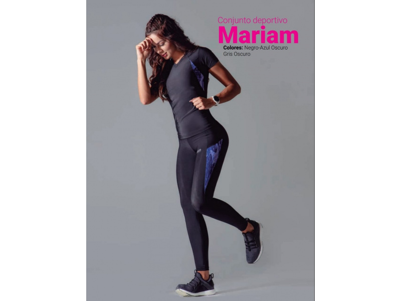 precio de calle comprar auténtico colores armoniosos Conjunto Deportivo Mariam para Mujer