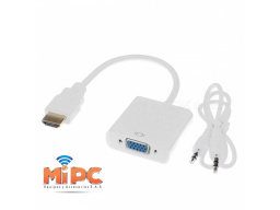 Imagen CONVERTIR DE VIDEO HDMI A VGA + AUDIO