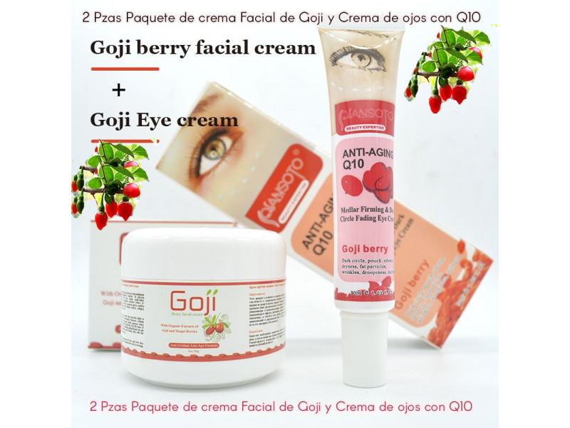 Crema Facial Goji + Contorno De Ojos Goji: 1A55 1A STORE