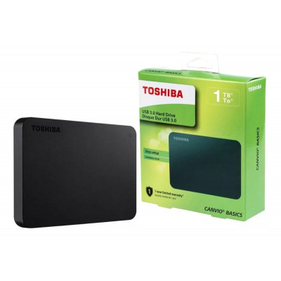 ImagenDisco Duro Externo 1 Tb Toshiba Canvio Basics Usb 3.0 Pc Mac