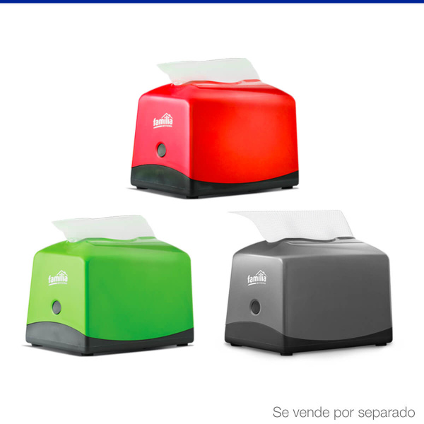 Imagen Dispensador Servilletas Plus 100 Verde x 1und 2