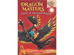 Imagen Dragon Masters. Flight of The Moon Dragon. Tracey West