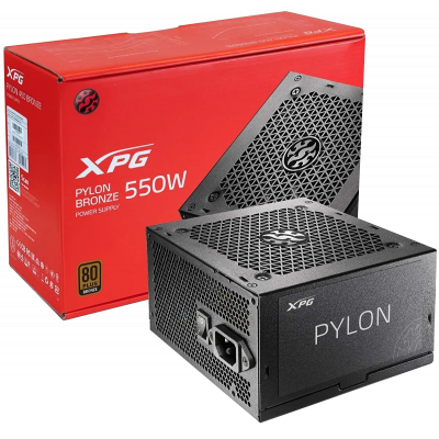 ImagenFuente XPG 550 WATTS PYLON 80 Plus Bronze