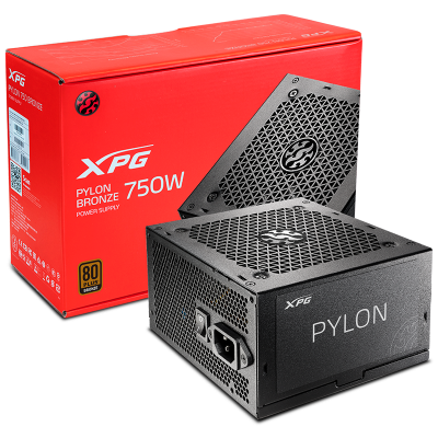 ImagenFuente XPG 750 WATTS PYLON 80 Plus Bronze