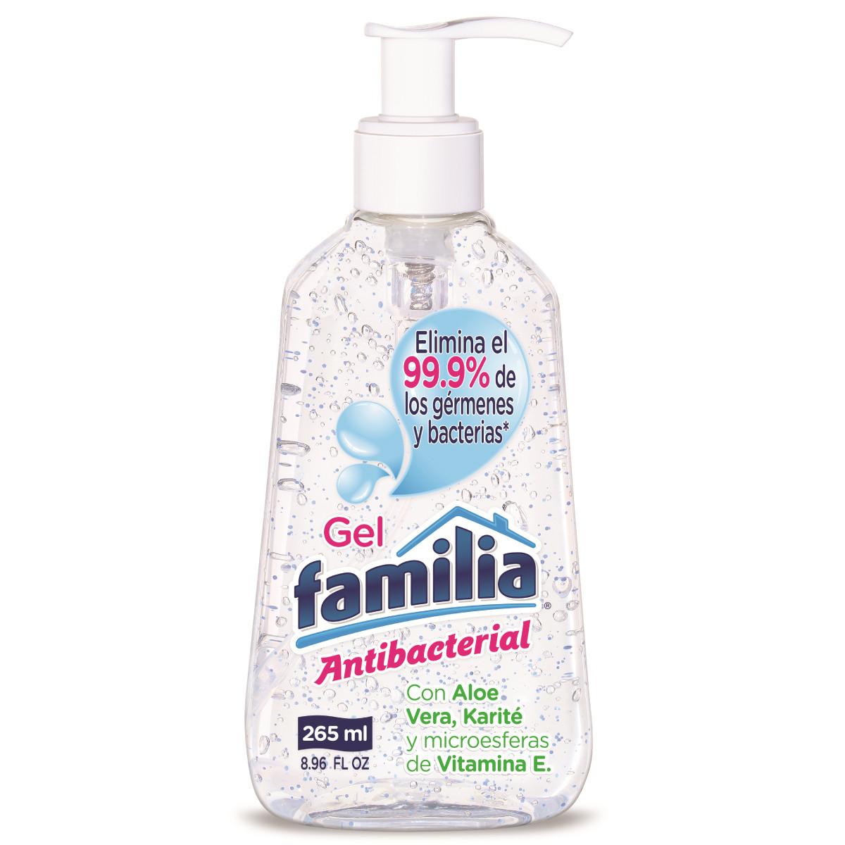 Imagen Gel Familia Antibacterial Pote X 265 ml