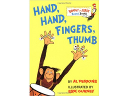 Imagen Hand, Hand, Fingers, Thumb (Bright & Early Board Books), Perkins, Al