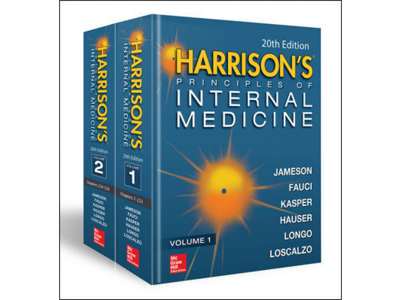 Imagen Harrison's principles of internal medicine 1