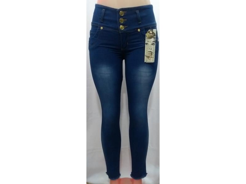 Jeans Estrech Para Mujer Tiro Alto Levanta Cola Jd0051 Fashion And Style