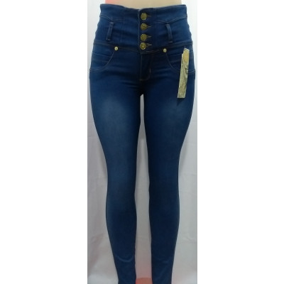 Jeans Estrech Para Mujer Tiro Alto Levanta Cola Jd0061 Fashion And Style