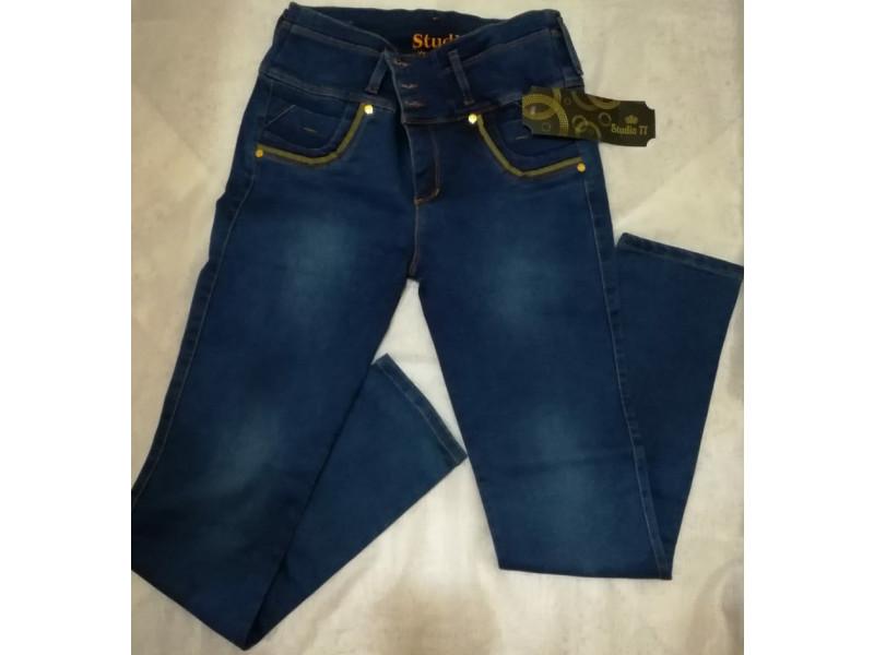 Jeans Strech Para Mujer Tiro Alto Levanta Cola Jd0052 Fashion And Style