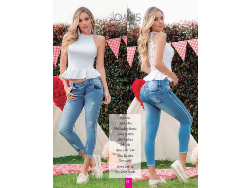 Jeans Tobillero De Mujer Lola Colombiamoda Basic Trends Moda Colombia Ropa Mujer Ropahombre Tendencia Chaquetas Jeans Blusas Elegante Economica Seguro Tienda Online Moda Domicilio Gratis Pagos Contra Entrega Vestidos Blazer Sudaderas