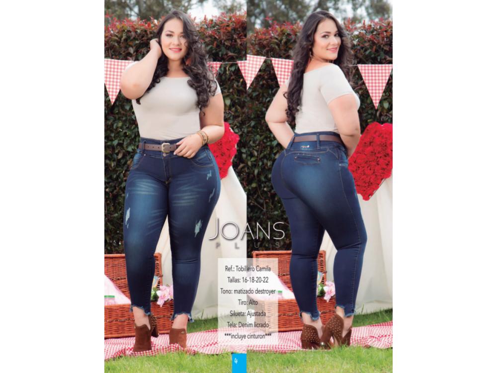 Jeans Tobillero De Mujer Tallas Grandes Camila Colombiamoda Basic Trends Moda Colombia Ropa Mujer Ropahombre Tendencia Chaquetas Jeans Blusas Elegante Economica Seguro Tienda Online Moda Domicilio Gratis Pagos Contra Entrega Vestidos Blazer