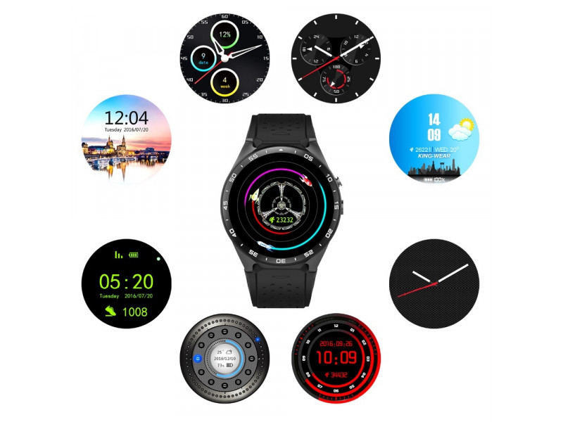 Imagen LEMFO KW88 Smartwatch Android 5.1 Bluetooth GPS 512MB+4 - Colores Varios 9